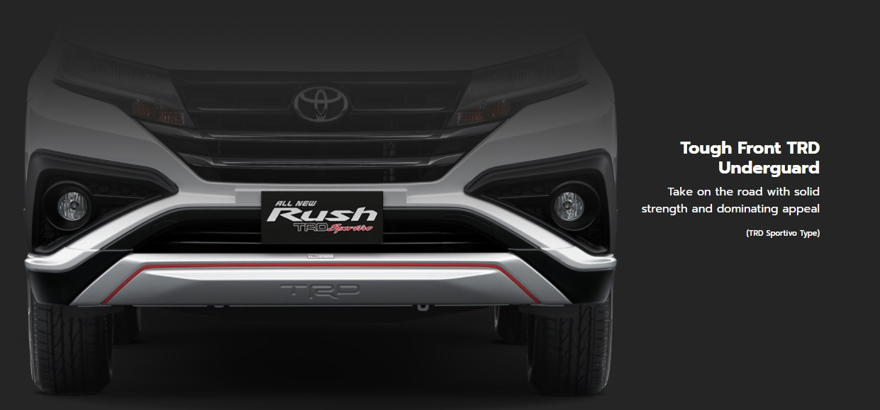 TRD FRONT