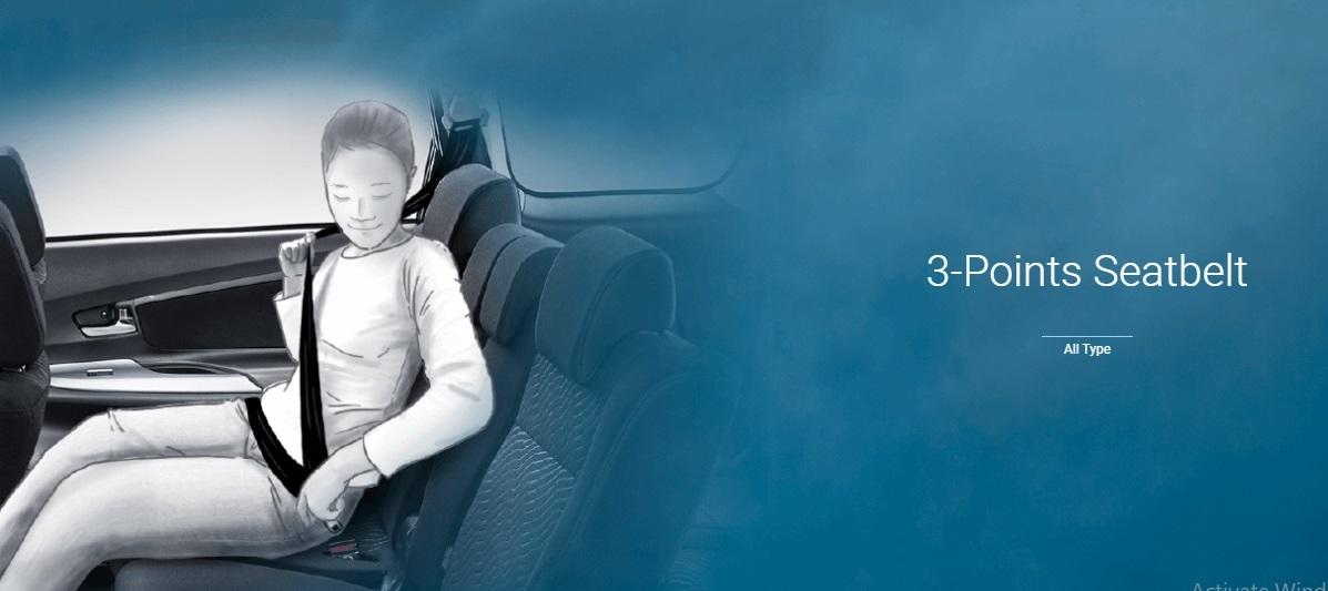 Seat Belt ABS Avanza Pekanbaru Riau