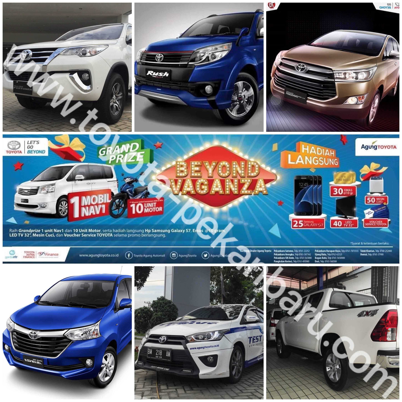 Toyota Pekanbaru Spesial Promo dan Test Drive Berhadiah
