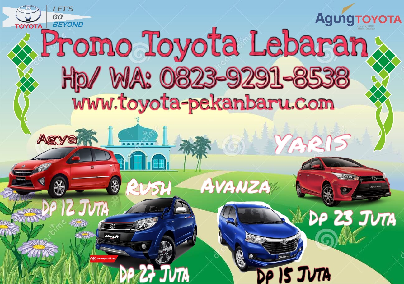 Promo Murah Lebaran Toyota Pekanbaru