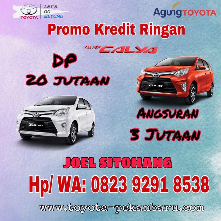 Harga Kredit Ringan Toyota Calya Pekanbaru