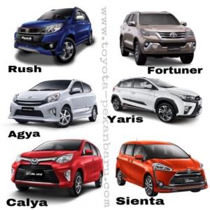 Harga Toyota Pekanbaru 2017 Terbaru
