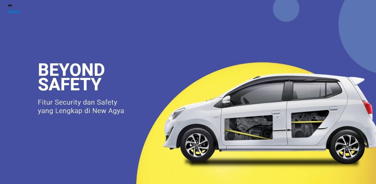 Safety Toyota Agya Pekanbaru Riau