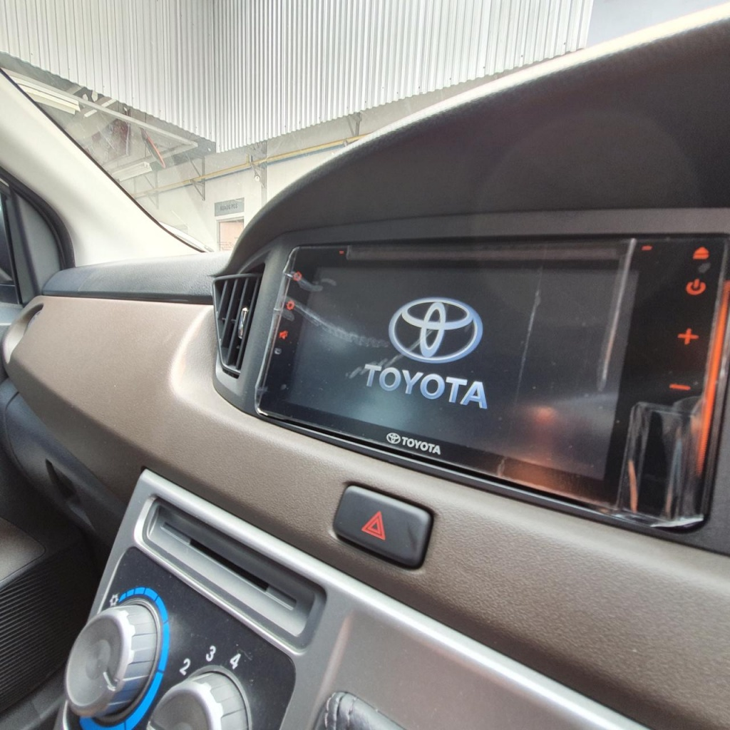HEAD UNIT TOYOTA CALYA PEKANBARU 2019
